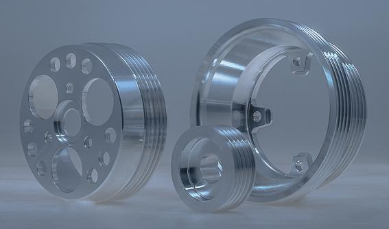 Pulley Set - Underdrive
